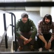 Jesse Keeler(right) and Sebastien Grainger of Death From Above 1979, who've become very big since breaking up after just one album nearly a decade ago and have now decided it's time to bury the hatchet and make a second one.