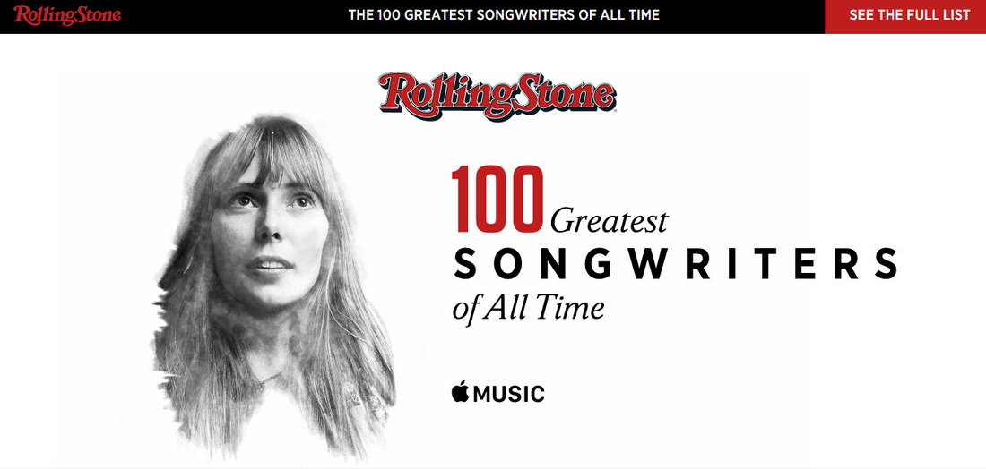 Joni cohen young make rolling stone 39 s top songwriters for Country living magazine phone number